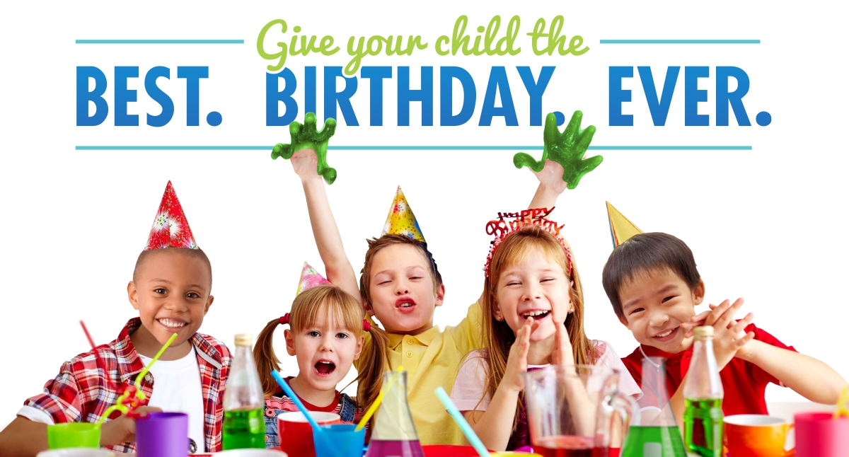 Birthday Parties   Kids Party Entertainment   Mad Science of DC